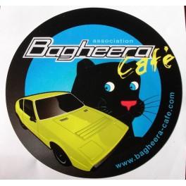 Autocollant bagheera café